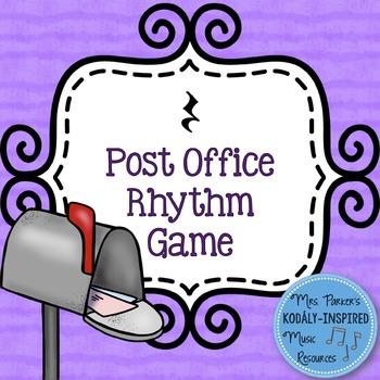 Post Office Rhythm Game: Ta, Ti-Ti, Rest