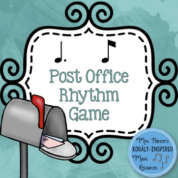 Post Office Rhythm Game: Tom Ti (Dotted Quarter Note / Eighth Note)