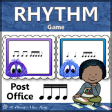 Music Rhythm Game Sixteenth Notes {Post Office}