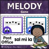 Music Melody Game Sol Mi La {Post Office}