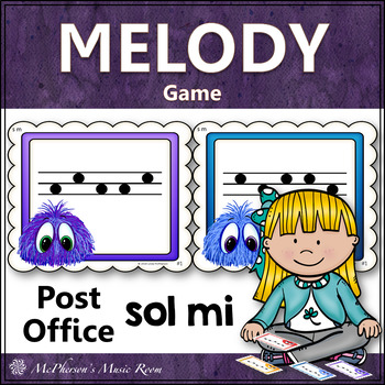 Sol Mi Music Melody Game {Post Office}