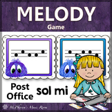 Music Melody Game Sol Mi {Post Office}