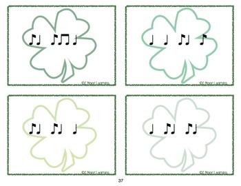 Post Office - St Patrick's Day Theme Rhythm Set