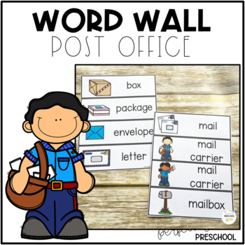 Post Office Word Wall