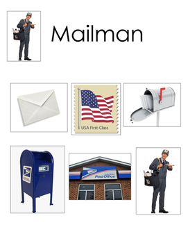 Post Office Word Wall for PreK, Kindergarten