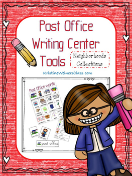 Post Office Writing Center Tools: Neighborhood Words