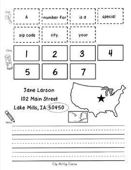 Post Office and Letter Writing Mini-Unit