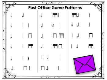 Post Office: half note