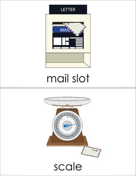 Post Office (set II) Picture Flashcards