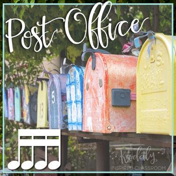 Post Office: sixteenth notes (tika-tika)