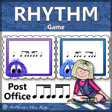 2 Sixteenths/1 Eighth & 1 Eighth/2 Sixteenths Music Rhythm Game {Post Office}