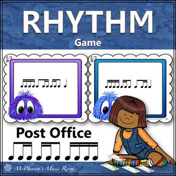 Post Office Rhythm Game 2 Sixteenths/1 Eighth, 1 Eighth/2 Sixteenths, Sixteenths