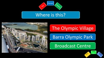 Post Olympic Games and Rio 2016 Quiz - 35 Questions - Visual and Interactive