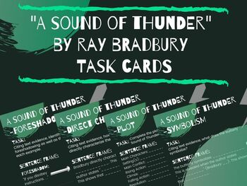 what is the theme of a sound of thunder