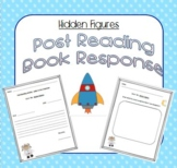 Post Reading Book Response Hidden Figures * writing & craf