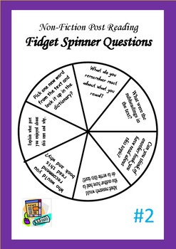 Post-Reading Fidget Spinner Question Boards