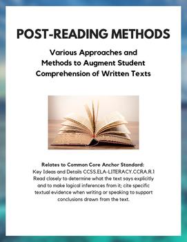Post-Reading Methods