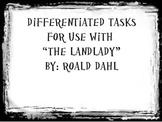Post Reading Tasks for The Landlady by Roald Dahl