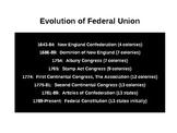 Post Revolutionary America and the Era of Thomas Jefferson