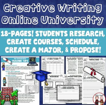 Post Secondary Writing Activity