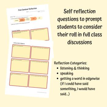 Post Seminar Reflection