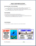 Post-Test Reflection Sheet