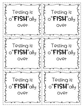 Post Testing Tags FREEBIE