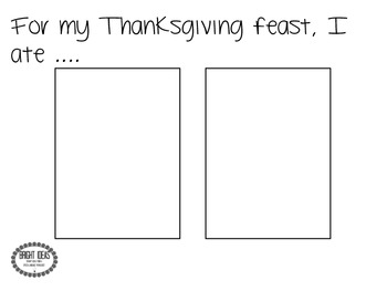 Post-Thanksgiving Speech & Language Activity