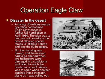 Post Vietnam and War on Terror Powerpoint