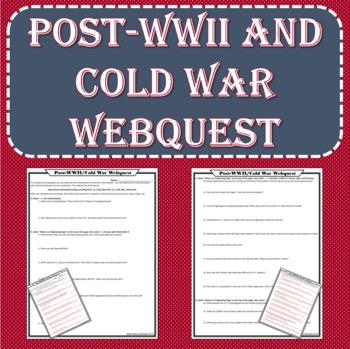 Post-WWII / Cold War WEBQUEST