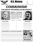Post-WWII Communism/Cold War tensions - full unit material