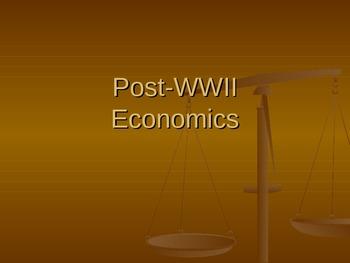 Post WWII Economics