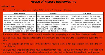 Post-WWII Review Game