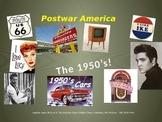 Post-War America, 1950's