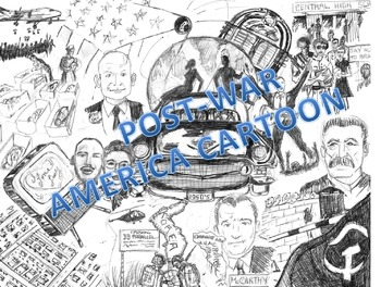 Post War America:  The Story Inside the Cartoon