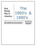 Changes and Continuity in the Post WWII World Writing Prompt