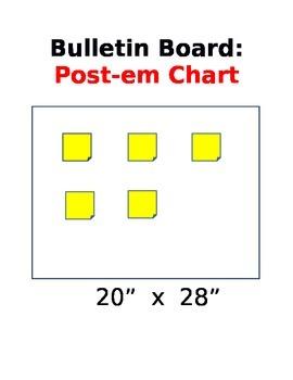 Bulletin Board:  Post-em Chart