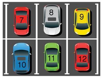 Post-it Parking Exit Ticket Bulletin Board
