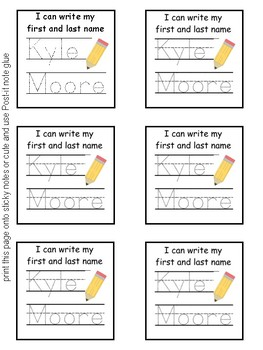 Post-its Sticky Notes ELA & Writing Strategies/Skills BUNDLE