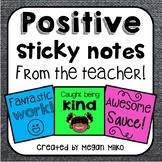 Post its/ Sticky Notes from the Teacher
