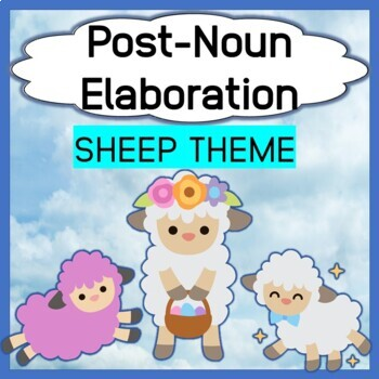 Post-noun elaboration Find the Sheep Game Plus Color Identification