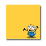 Post It Notes- Minion's and MORE