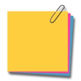 Post It Notes- Regular