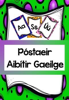 Póstaeir Aibítir Gaeilge