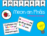 Póstaeir Mheon an Fháis as Gaeilge // Growth Mindset Posters in Irish