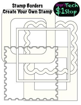 Postage Stamp Frames or Borders!