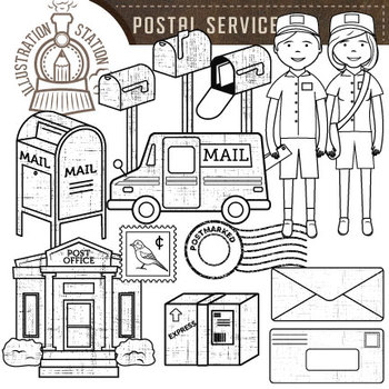 Postal Mail Clip Art