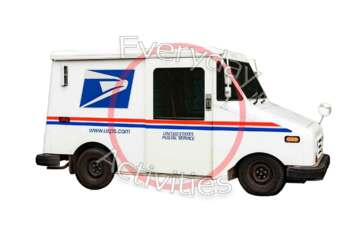 Postal Truck Mail Vehicle Us Postal Service Truck Mail Carrier Auto