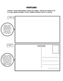 Postcard Activity for Interactive Notebook and Assessment