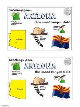 Postcard Exchange Arizona